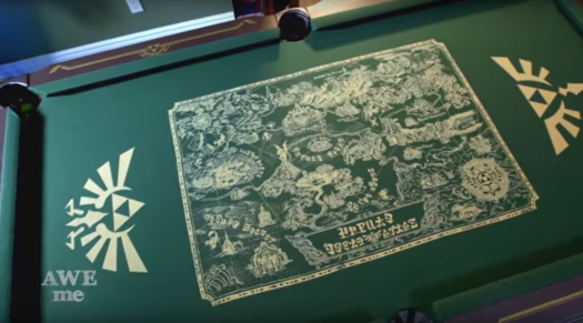 zelda_pool_table